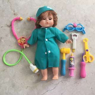 Doctor Playset with Doll