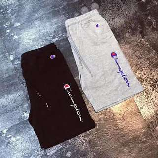 Champion pants in grey or blk