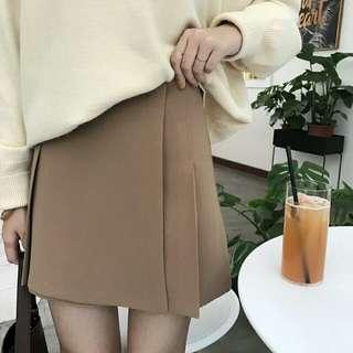 🚚 駝色韓妞質感裙!