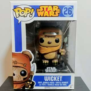 Wicket Funko Pop Star Wars