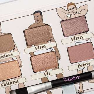 🚚 Authentic The Balm Nude Dude Eyeshadow Palette