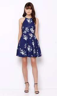 Lavenia Dress navy - Chocochips