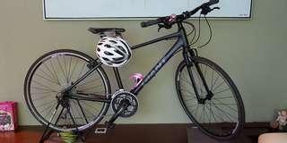 Giant Escape Road Bike + Bike Stand + Lock