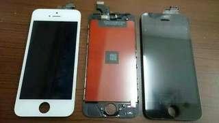 Service/servis/repair/fixing/betulin/benerin.Ganti.LCD+Touchscreen/Touchscren/Toskrin.retak,pecah,error,rusak.original apple iphone 5G.bisa cod dan pasang