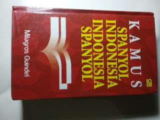 Kamus Spanyol-Indonesia Indonesia-Spanyol