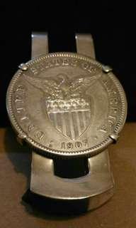 美國一元硬幣鈔票夾