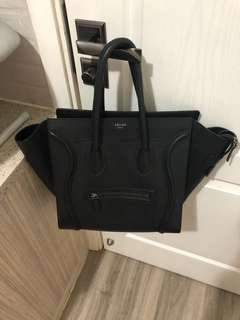 99% new Celine Micro Luggage - calf leather