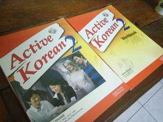 Buku Belajar Bahasa Korea ( u/ 1 musim )