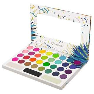 🚚 Authentic BH Cosmetics Take Me Back To Brazil Eyeshadow Palette