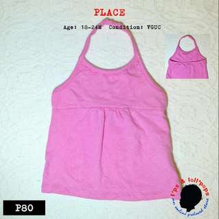 Backless Top For Baby Girl