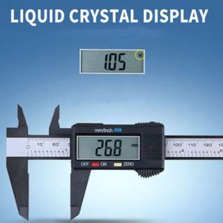 🚚 LCD Display Digital Electronic Vernier Caliper with Box case