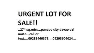 LOT FOR SALE PANABO DAVAO