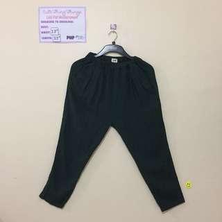 Emerald Green Garterized Trousers