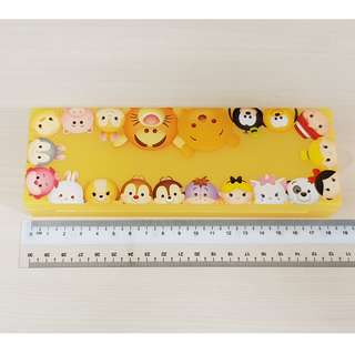 Disney Tsum Tsum Yellow Winnie the Pooh and Friends Plastic Stationery Pencil Case