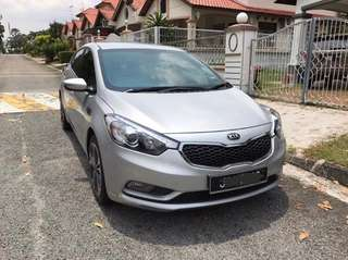 2014 Kia Cerato K3 1.6(A) 1 year warranty