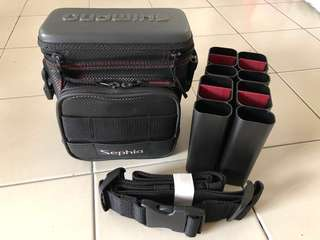 SHIMANO Sephia fishing / e-scooter bag