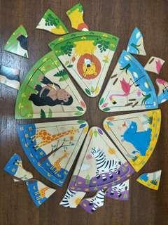 Wooden Puzzle - Animal Kingdom 👑