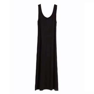 BN Cotton On Long Black Dress