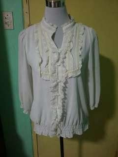 Korean blouse top