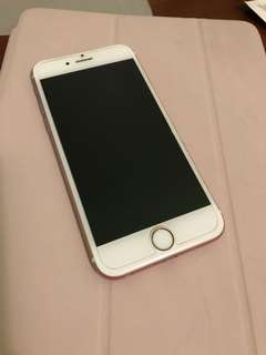 Unlocked 64gb iphone 6s rose gold 10/10 condition