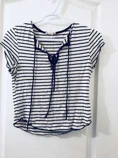 Striped soft tshirt