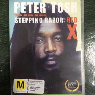 Peter Tosh Stepping Razor Red X dvd