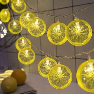 Lemon / Lime / Orange fairy lights