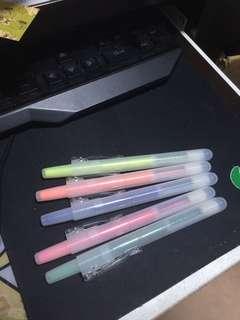 五色螢光筆