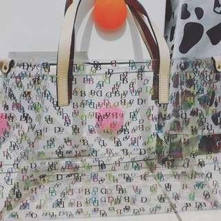 Tote bag jelly dooney & bourke