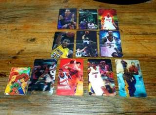 NBA Local Lenticular Sticker Cards