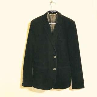 🚚 出清🌹男士麂皮西裝外套 香港潮牌2%支線品牌+-×÷L號
