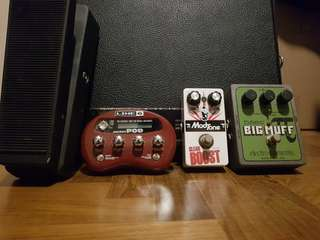 Electric Guitar and Bass Pedals