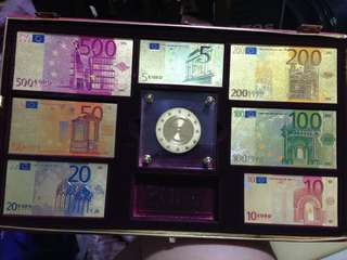 Gold Commemorative Euros