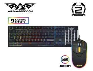 Armaggeddon Gaming Keyboard And Mouse
