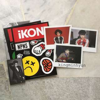 IKON Debut Full Album (Red Version) – Yunhyeong Welcome Pack