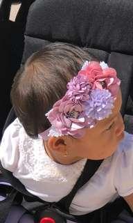 Headband Bayi bunga Premium elegant