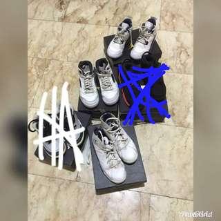 Toddler size Jordan Shoes