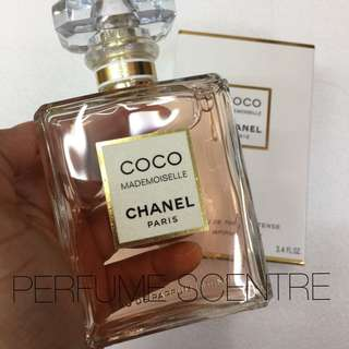 COCO Chanel Mademoiselle Intense Dubai Authentic 100ml