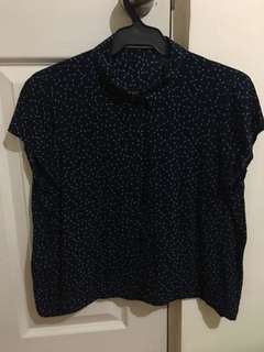 Mango Blouse crop top