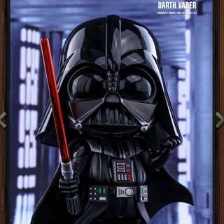 Brand new Hottoys Star Wars Darth Vader cosbaby(L) bobble head figure Disney