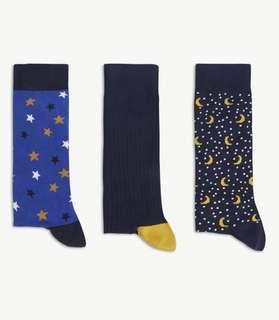 Ted Baker cotton blended socks gift set