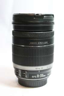 canon 18-200mm IS mint condition