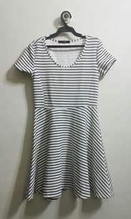 Black & White Stripes Dress