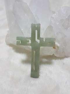 ⭐Pendant GradeA Myanmar Jade (JESUS)