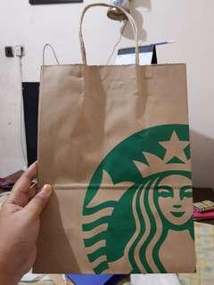 Paperbag Starbucks Medium