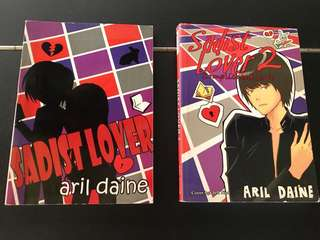 Sadist Lover 1&2 by Aril Daine (Wattpad book)
