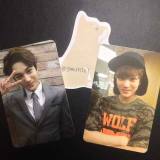 EXO KAI OFFICIAL PHOTOCARD