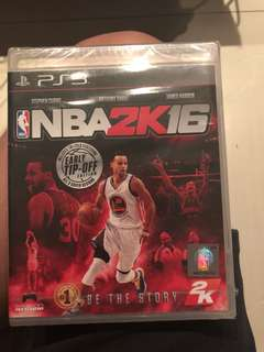 PS3 game nba 2k16