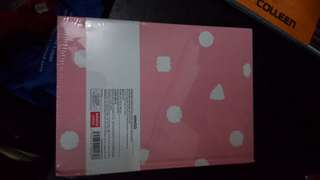 Cute Pink hardbound Notebook