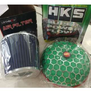 Simota and HKS Performance air filters